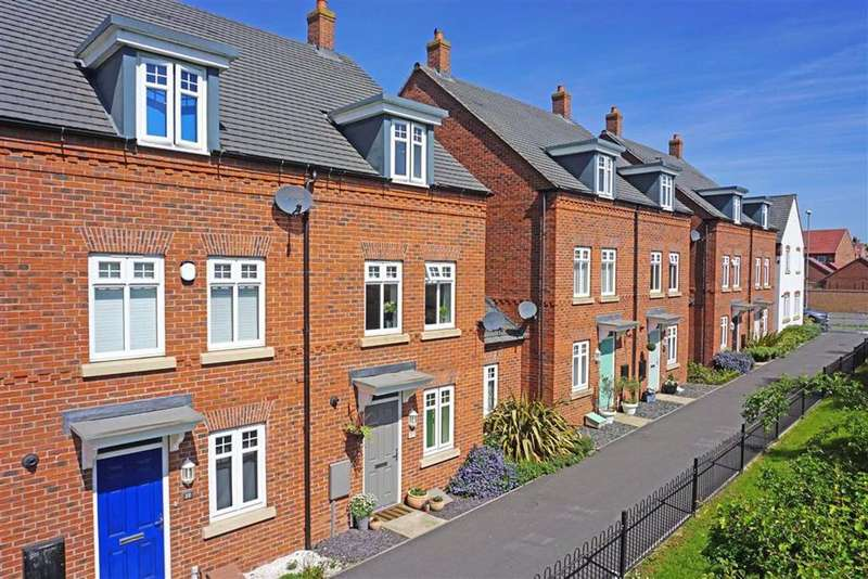 4 Bedrooms Town House for sale in Polwell Road, Kibworth Harcourt, Leicester