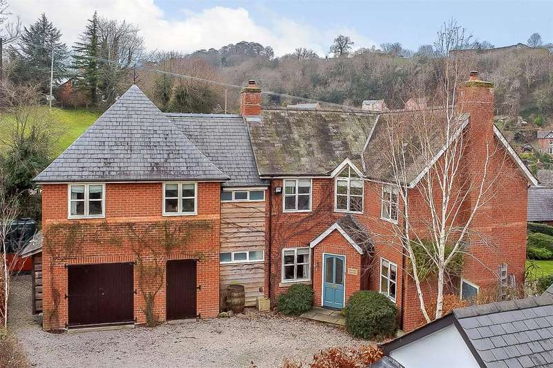 4 Bedrooms Detached House for sale in Chirbury Road, Montgomery, Powys
