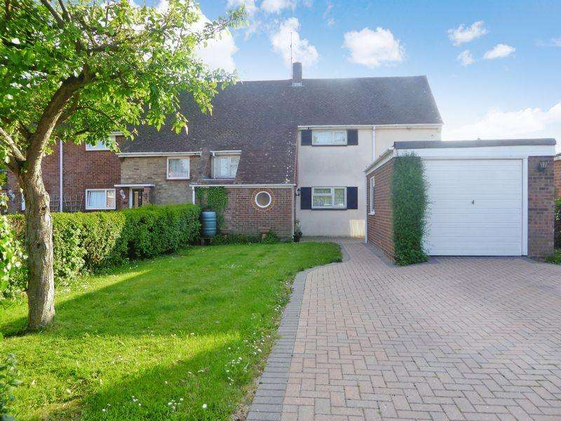 3 Bedrooms Semi Detached House for sale in Woodlands Avenue, Dunstable