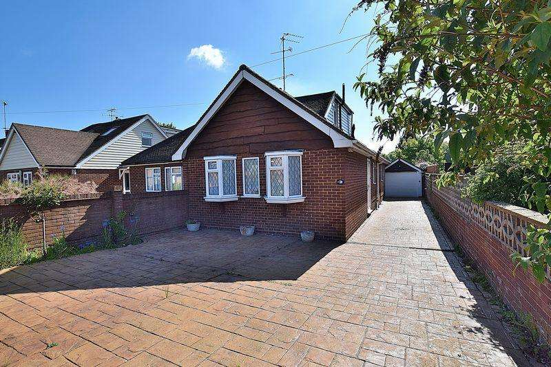 3 Bedrooms Semi Detached Bungalow for sale in A GARDNENER'S DREAM! 28' lounge/dining area, garage and workshop, no chain...