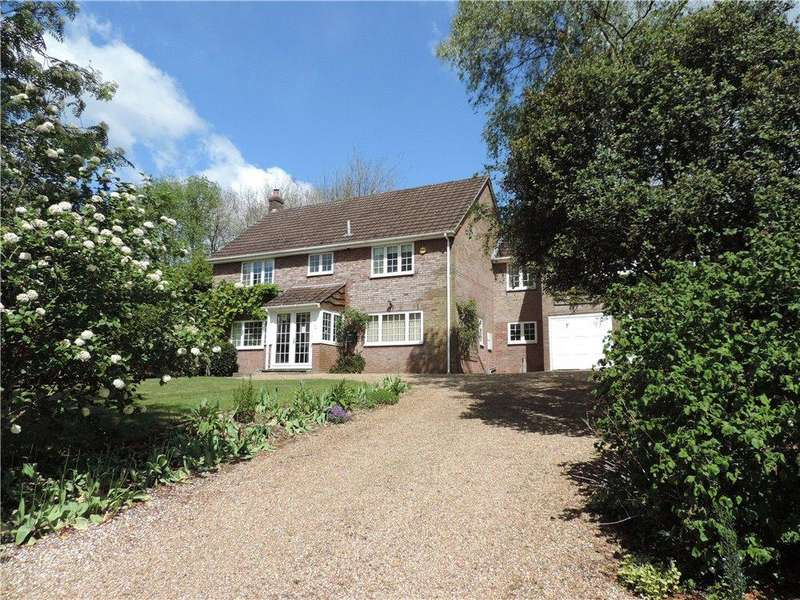 5 Bedrooms Detached House for sale in Lynch Hill Park, Whitchurch, Hampshire, RG28
