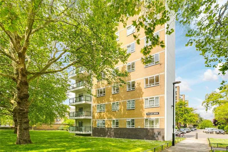 1 Bedroom Flat for sale in Shelley House, Churchill Gardens, London