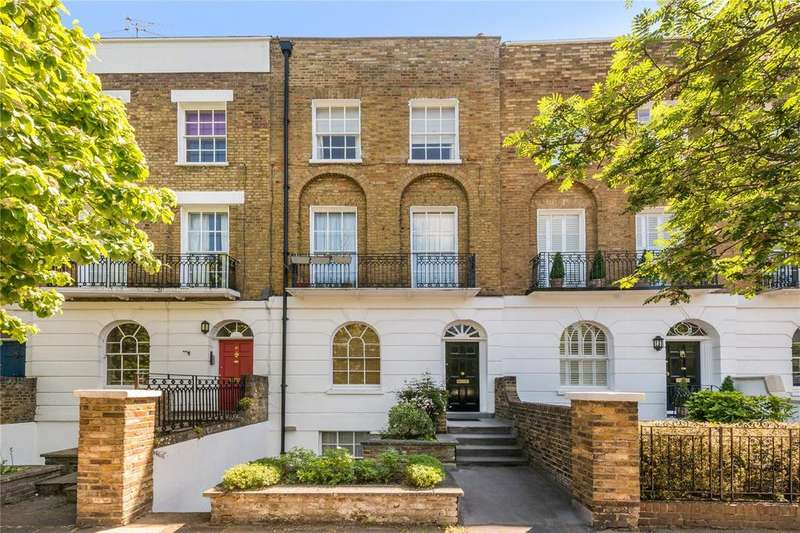 3 Bedrooms Flat for sale in Barnsbury Road, Barnsbury, London