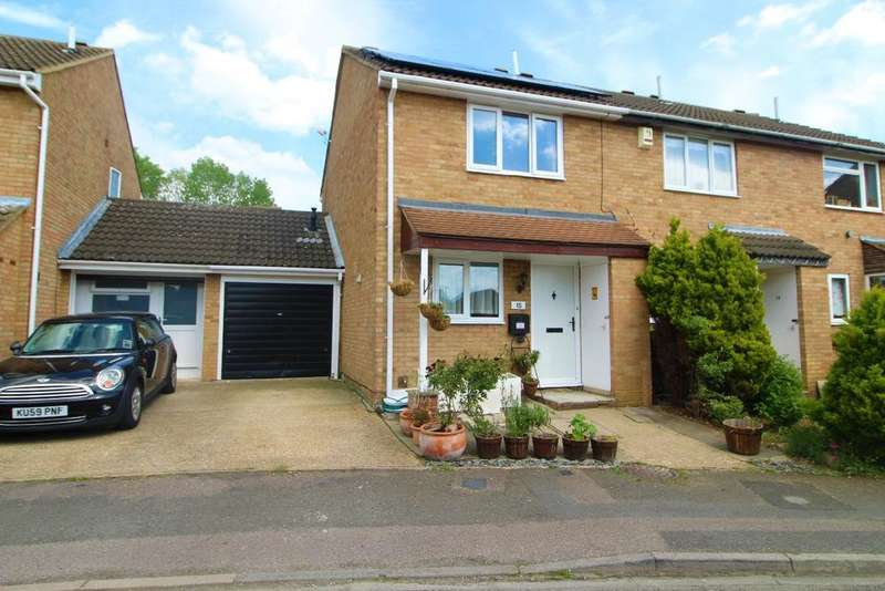 2 Bedrooms End Of Terrace House for sale in Gulliver Close, Kempston MK42