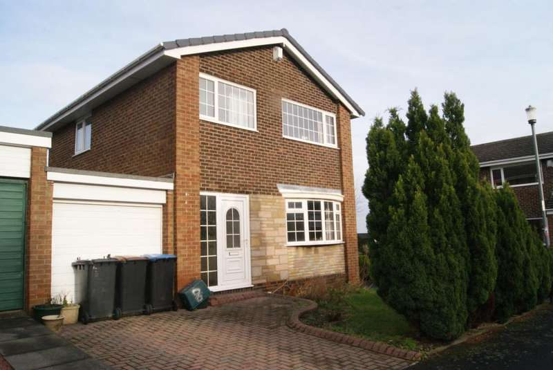 3 Bedrooms Detached House for rent in Hollywell Court, Ushaw Moor, DH7