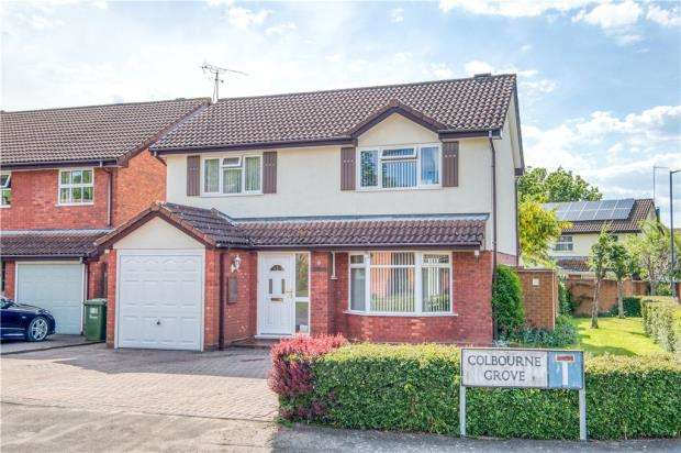 4 Bedrooms Detached House for sale in Colbourne Grove, Milverton, Leamington Spa