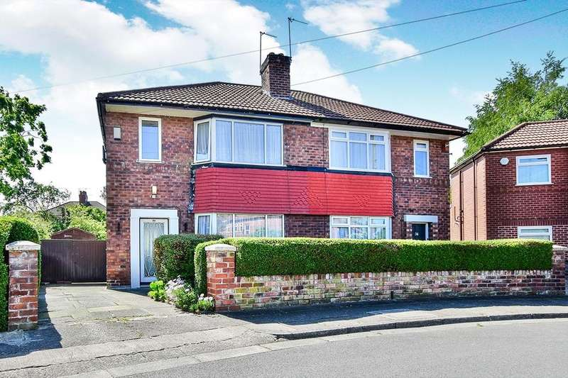 3 Bedrooms Semi Detached House for sale in Broughville Drive, Didsbury , Manchester, M20