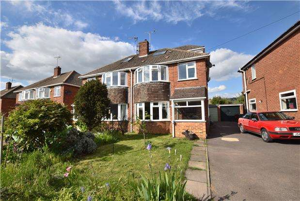 4 Bedrooms Semi Detached House for sale in Studland Drive, Prestbury, CHELTENHAM, Gloucestershire, GL52 5BT