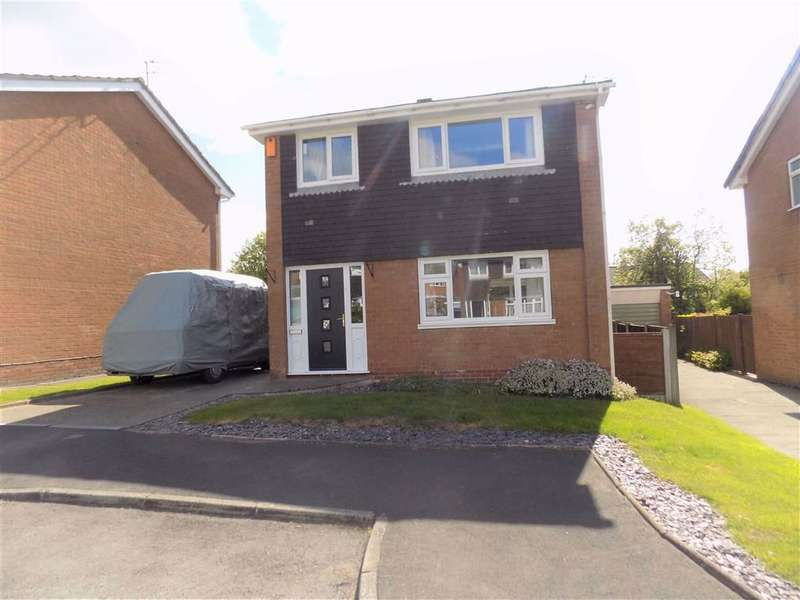 3 Bedrooms Detached House for sale in Kenilworth Close, Marple, Stockport