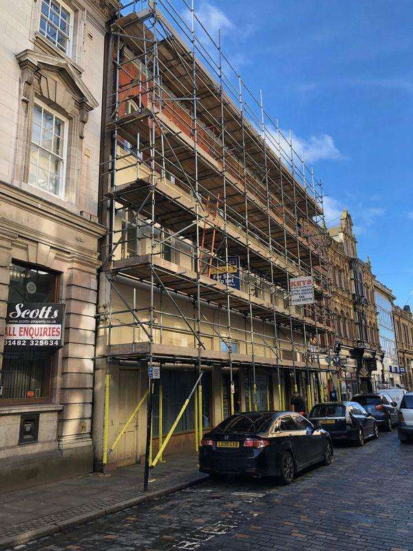 2 Bedrooms Block Of Apartments Flat for sale in Silver Street, Hull