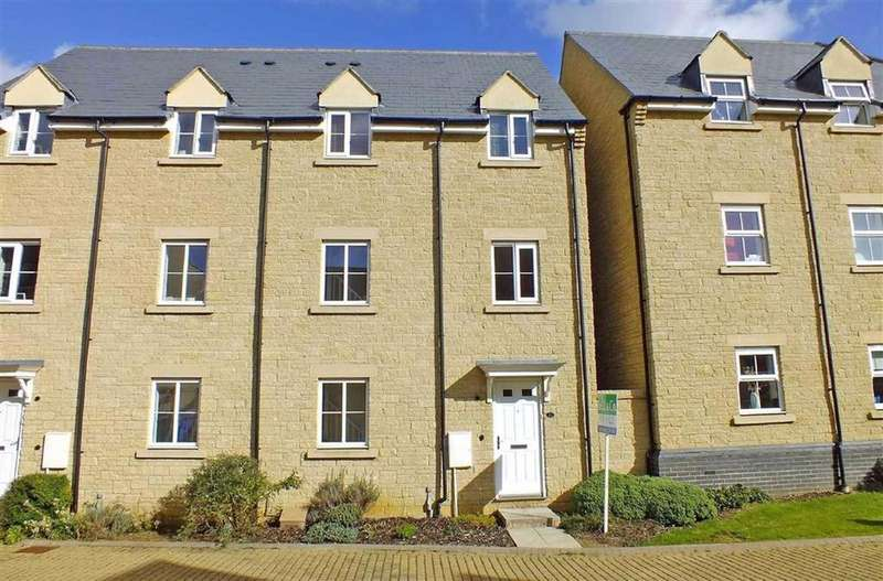2 Bedrooms Town House for sale in West Way, Bishops Cleeve, Cheltenham, GL52