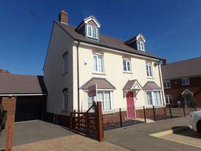 5 Bedrooms Detached House for sale in Avocet Road, Wixams, Bedford, Bedfordshire