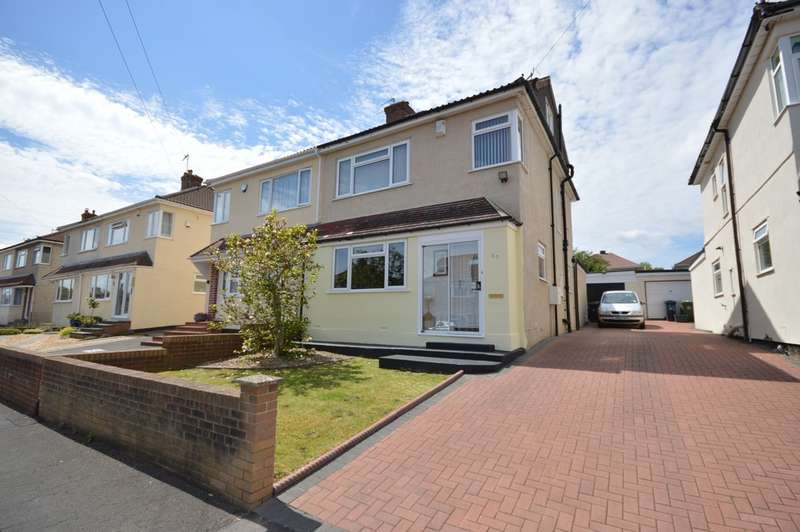 3 Bedrooms Semi Detached House for sale in Whitecross Avenue, Whitchurch, Bristol, BS14