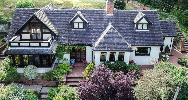 3 Bedrooms Cottage House for sale in Rock Sands, Chase Lane, Tittensor, Stoke on Trent
