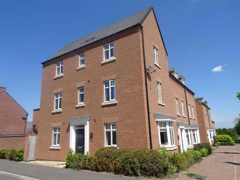 4 Bedrooms Semi Detached House for sale in Olympic Way, Hinckley
