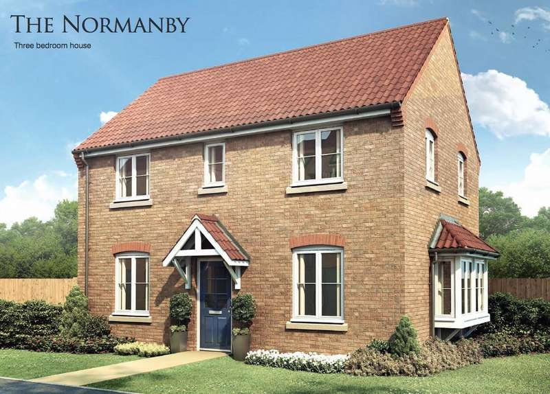 3 Bedrooms Detached House for sale in Plot 43 The Normanby, Pinchbeck Fields, Spalding