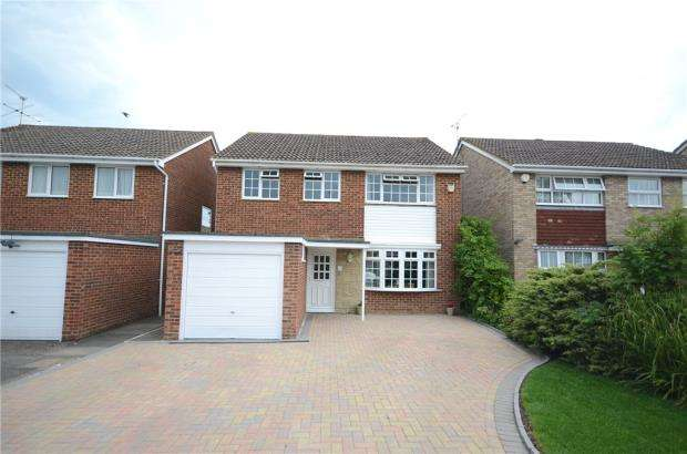 4 Bedrooms Detached House for sale in Shefford Crescent, Wokingham, Berkshire