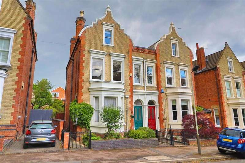 5 Bedrooms Semi Detached House for sale in Alexandra Road, Stoneygate, Leicester, Leicestershire