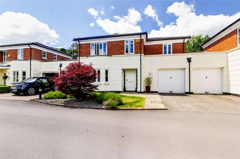 4 Bedrooms Link Detached House for sale in Wayland Close, Bradfield, Reading, Berkshire, RG7