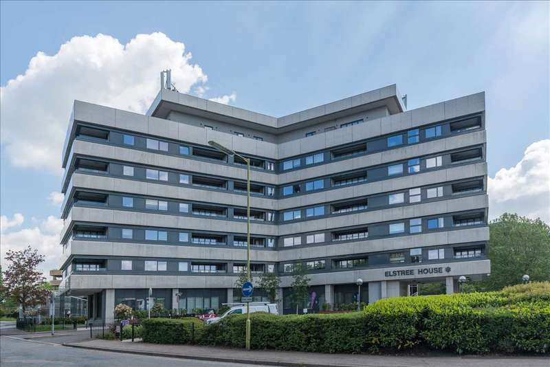 2 Bedrooms Apartment Flat for sale in Elstree House, Elstree Way, Borehamwood