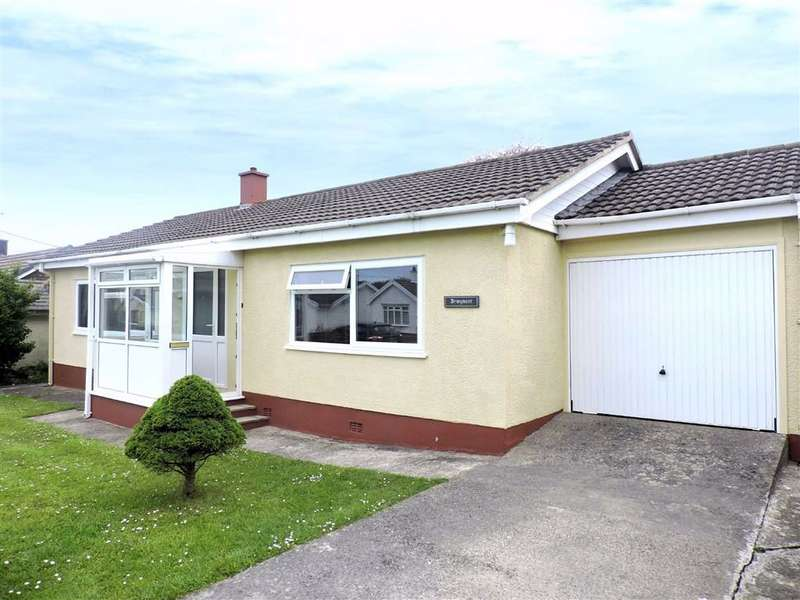 3 Bedrooms Detached Bungalow for sale in Spring Hill, Dinas Cross, Newport