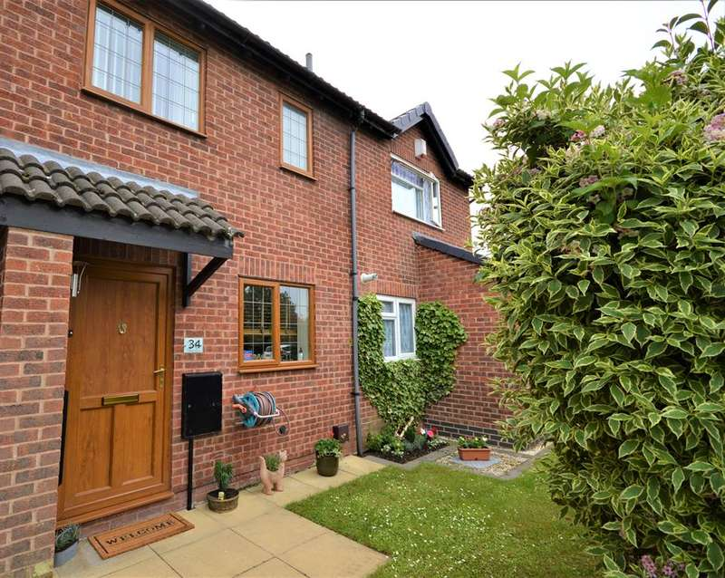 2 Bedrooms Terraced House for sale in Cutters Close, Narborough, Leicester, LE19 2FY