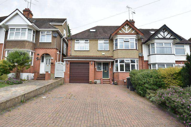 5 Bedrooms Semi Detached House for sale in Cutenhoe Road, Luton