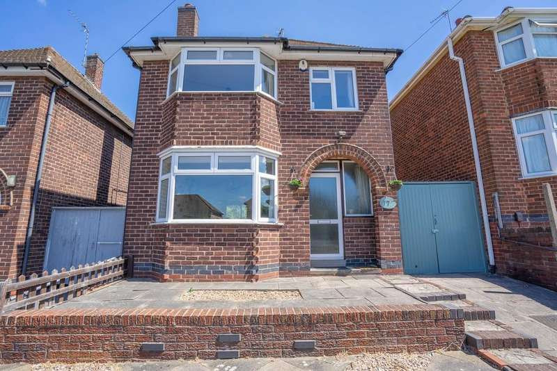 3 Bedrooms Detached House for sale in Headland Road, Leicester