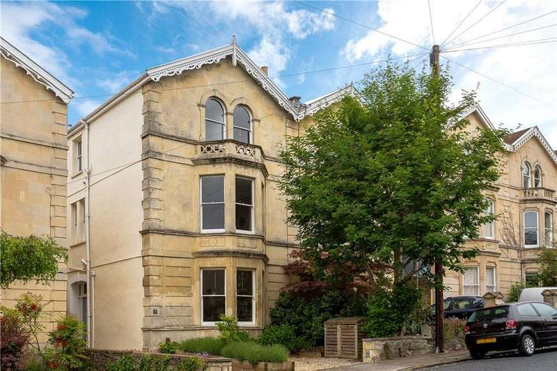5 Bedrooms Semi Detached House for sale in West Shrubbery, Redland, Bristol, BS6