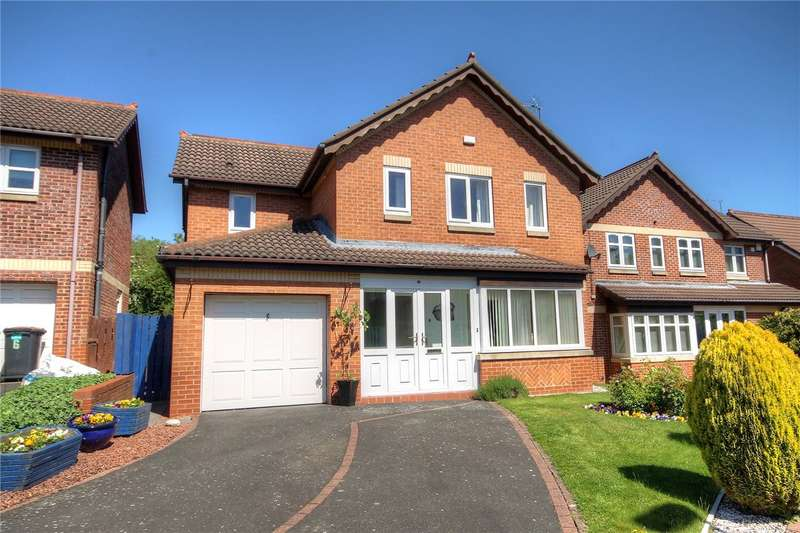 4 Bedrooms Detached House for sale in Milburn Close, Riverside, Chester Le Street, DH3