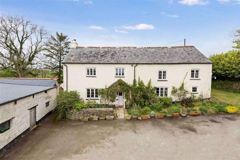 4 Bedrooms Detached House for sale in Buckland Brewer, Bideford, Devon, EX39