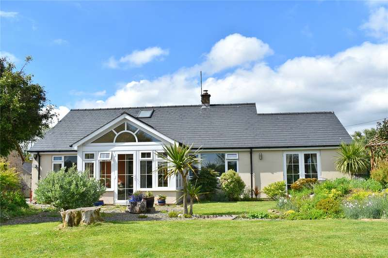 3 Bedrooms Detached Bungalow for sale in Swaledale, The Ridgeway, Lamphey, Pembroke