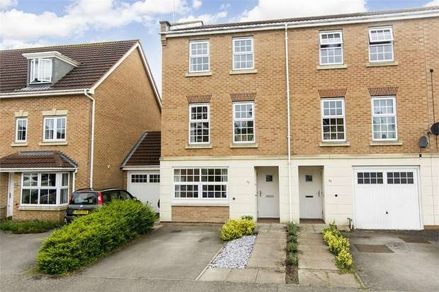 4 Bedrooms End Of Terrace House for sale in Middlebrook Green, Market Harborough, Leicestershire