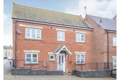 3 Bedrooms Semi Detached House for sale in Hallam Fields Road, Birstall, Leicester, Leicestershire