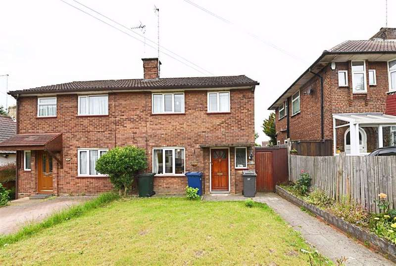 2 Bedrooms Semi Detached House for sale in Abercorn Road, Mill Hill, London, NW7