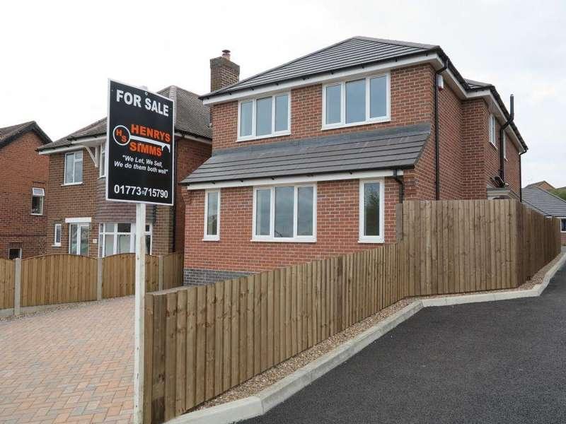 4 Bedrooms Detached House for sale in Douglas Avenue, Heanor, Derbyshire, DE75 7FQ