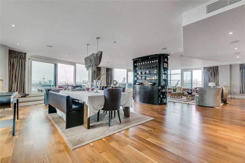 6 Bedrooms Flat for sale in Ensign House, Battersea Reach, Juniper Drive, London