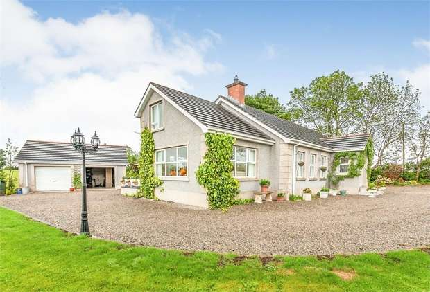 4 Bedrooms Detached Bungalow for sale in Tullyreagh Road, Glarryford, Ballymena, County Antrim