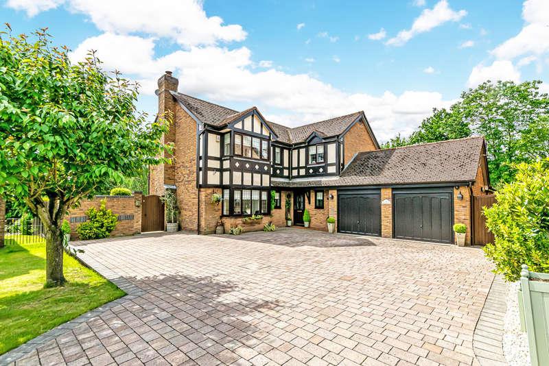 4 Bedrooms Detached House for sale in Rosemoor Gardens, Appleton, Warrington