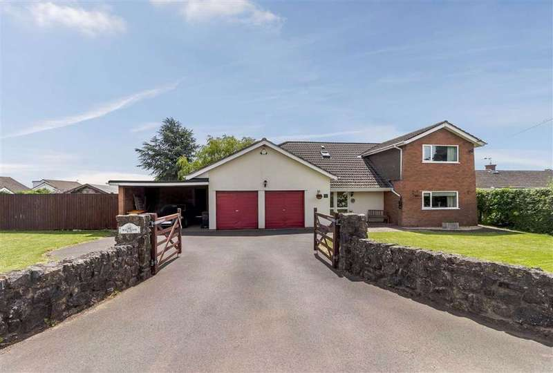 4 Bedrooms Detached House for sale in Llanvaches, Caldicot