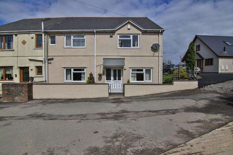 4 Bedrooms Semi Detached House for sale in Bryn View, Nantyglo, Ebbw Vale
