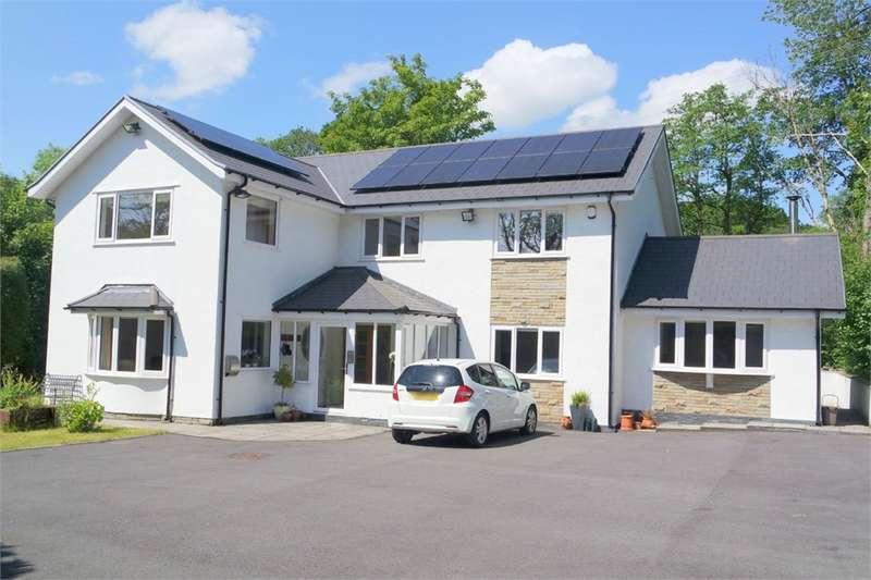 6 Bedrooms Detached House for sale in Y Derw Garth Fach, Llangynwyd, Maesteg, Mid Glamorgan