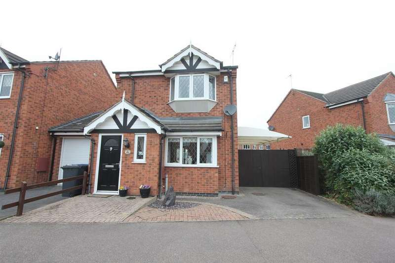 3 Bedrooms Detached House for sale in Florian Way, Hinckley
