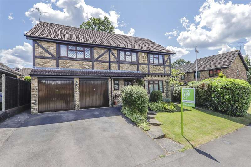 5 Bedrooms Detached House for sale in Setley Way, Martins Heron, Bracknell, Berkshire, RG12