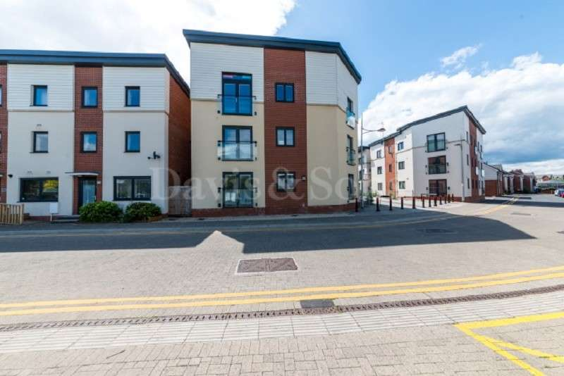2 Bedrooms Ground Flat for sale in Rodney House,, Millennium Walk,, Newport. NP19 0NW