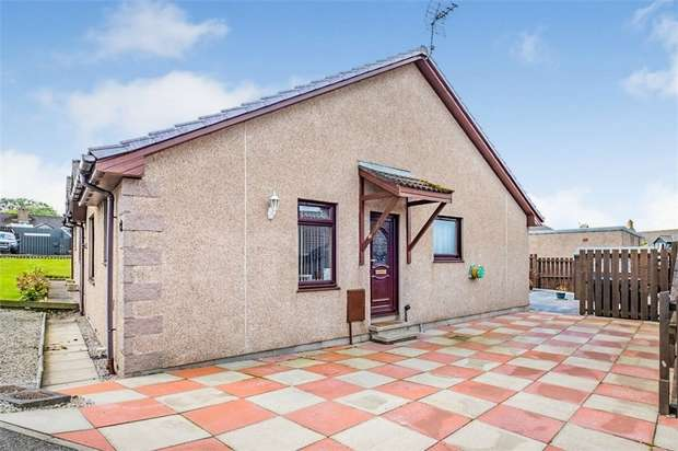 2 Bedrooms Semi Detached Bungalow for sale in Scotston Place, St Cyrus, Montrose, Aberdeenshire