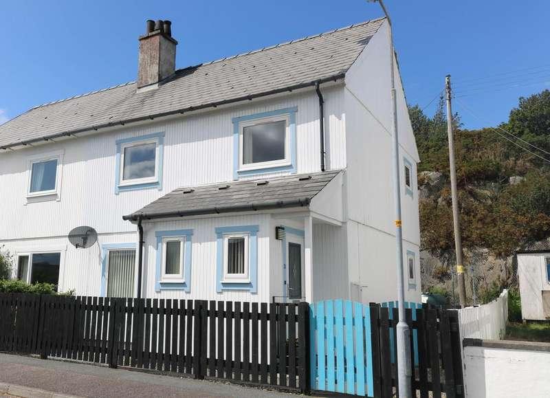 3 Bedrooms Semi Detached House for sale in Lochalsh Road, Kyle of Lochalsh IV40