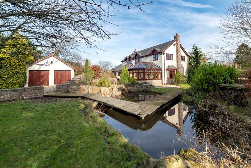4 Bedrooms Detached House for sale in Walwen Lane, Axton, Holywell