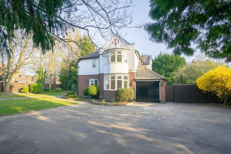 4 Bedrooms Detached House for sale in London Road, Stoneygate, Leicester