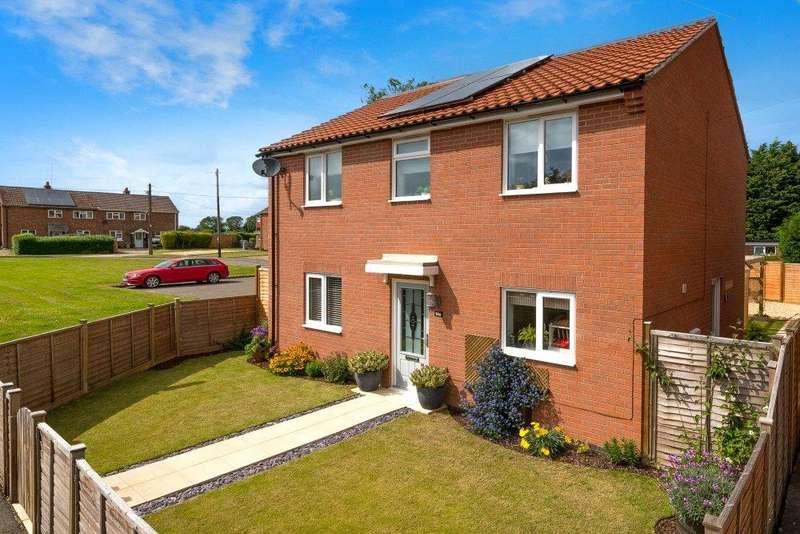 3 Bedrooms Detached House for sale in Paddocks Estate, Horbling, Sleaford, NG34